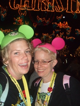 With my BFF at MouseFest 2008