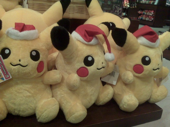 Santa Pikachu, spotted at Mitsukoshi Department Store, December 2008