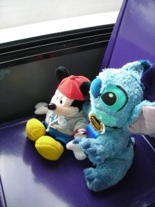 ....and with Pal Mickey, on the TTA at MouseFest 2008