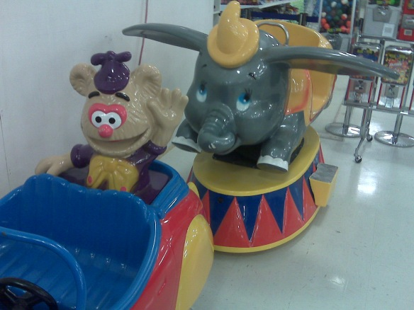 Fozzie and Dumbo