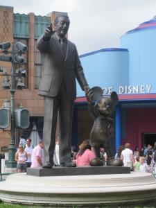 Partners Statue, Walt Disney Studios, Disneyland Paris
