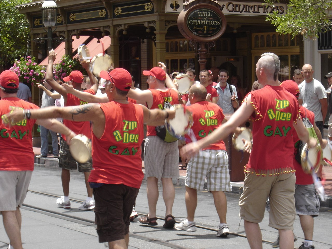 Zip-a-Dee-Doo Gay! Everyone loves a parade!