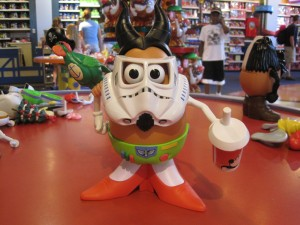 Make-your-own Mr. Potato Head