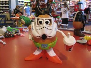 Make-your-own Mr. Potato Head