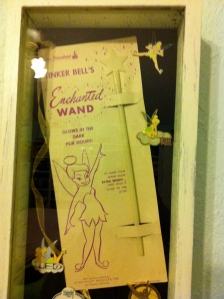 elusive glow-in-the-dark tinkerbell wand of my youth purchased for WAY too much money on eBay