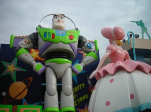 Buzz and Bo Peep at All Star Movies