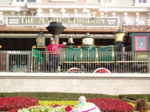 Magic Kingdom Railroad