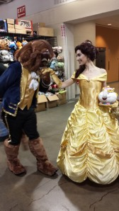 Beauty and the Beast cosplay at Anime Boston 2014