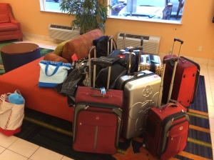 here is a picture of our group luggage for your enjoyment