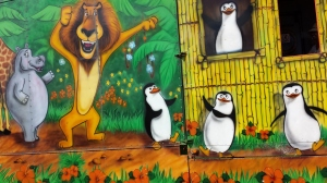 NOT the Madagascar penguins